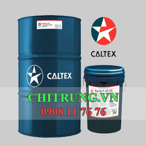 Nhot Caltex Hydraulic AW 68